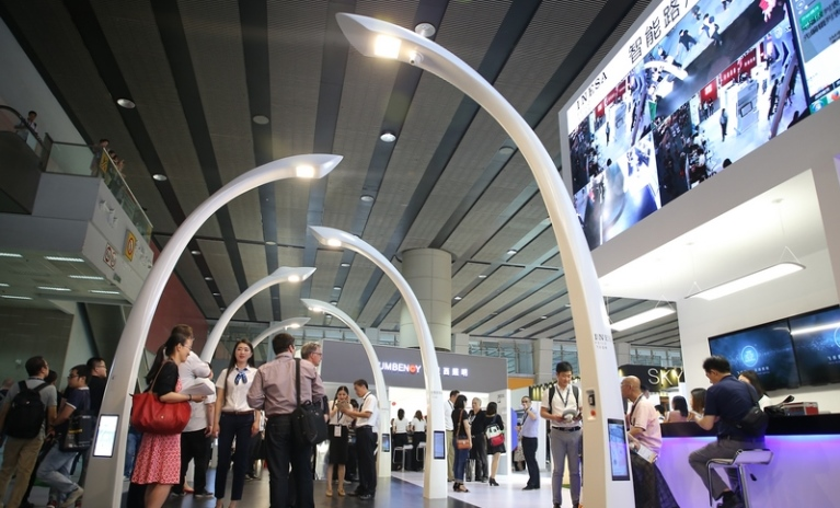 Smart Street Lighting presented at GILE 2018